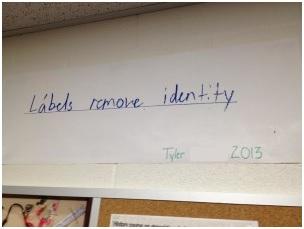 Labels Remove Identity