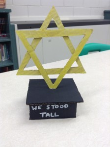 Memorializing the holocaust.