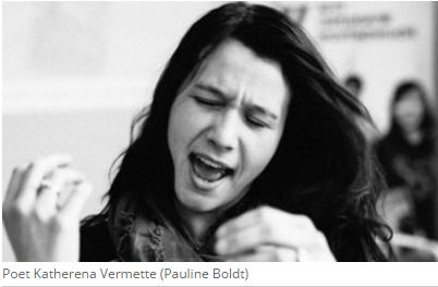 Katherena Vermette. Photo credit Pauline Boldt for CBC radio