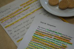 Student letters to Art Spiegelman